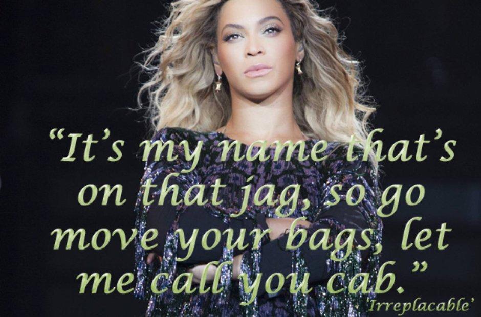 Bey lyric