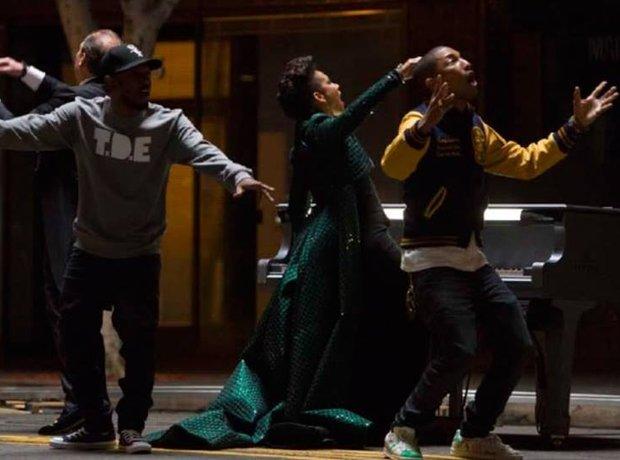 Kendrick Lamar Alicia Keys Pharrell
