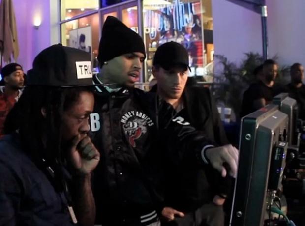 Chris Brown Loyal behind the scenes