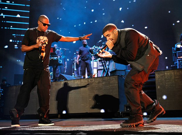 The history of drake and jay zs relationship what went wrong september 2013 drake and jay z collaborate on pound cake paris morton music 2 malvernweather Images