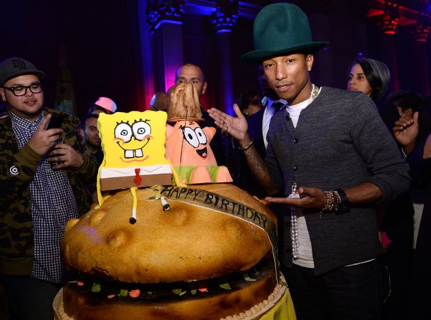 Pharrell birthday 2014
