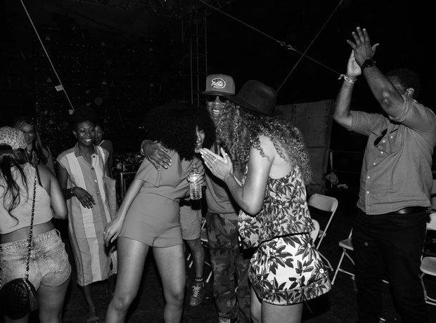Beyonce Solange coachella 2014