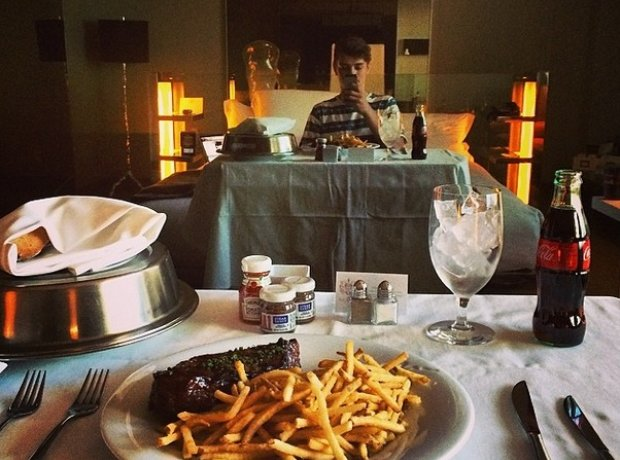 Martin Garrix room service