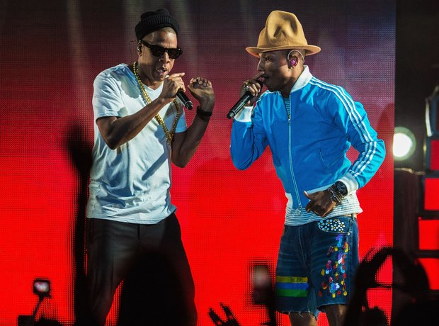Jay Z Pharrell Coachella 2014
