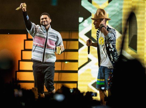 Pharrell Usher Coachella