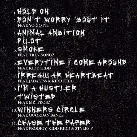 50 Cent Animal Ambition tracklist