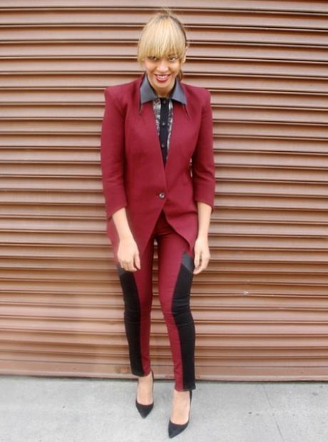Beyonce suit Instagram