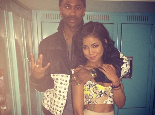 Jhene Aiko and Big Sean Instagram