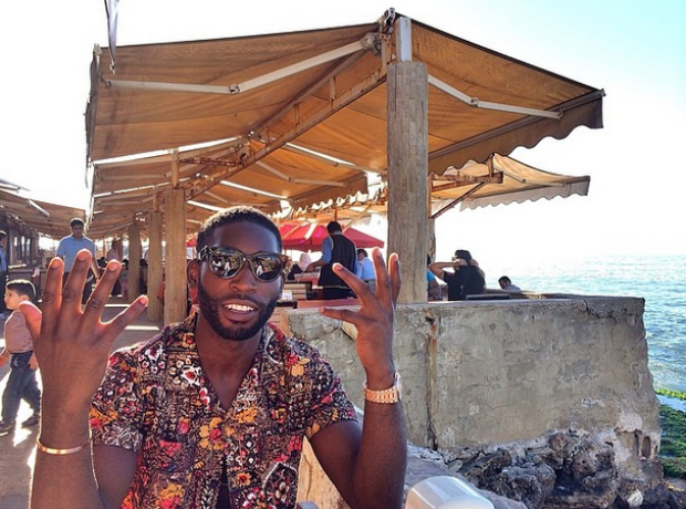 Tinie Tempah holiday Instagram