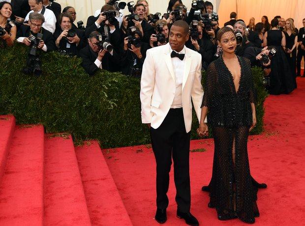 Beyonce Jay Z Met Gala 2014