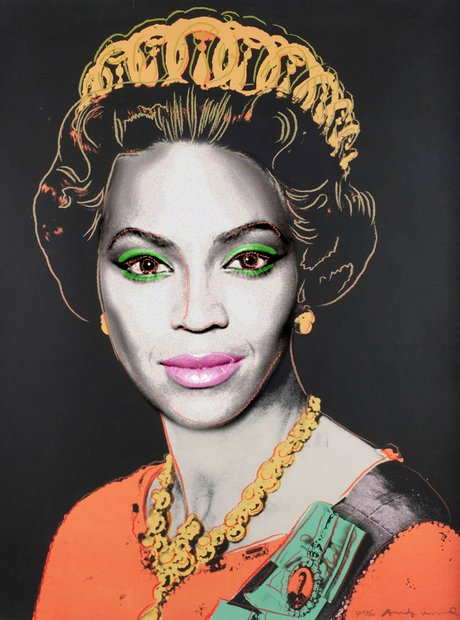 Beyonce as Queen Beyonce portrait
