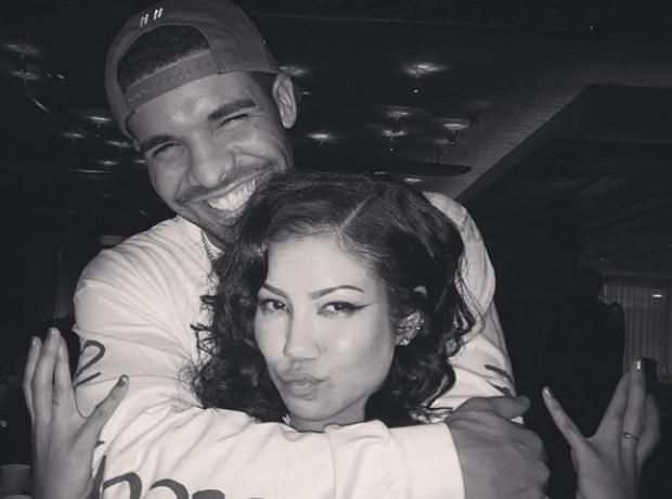 Drake Hug Jhene Aiko