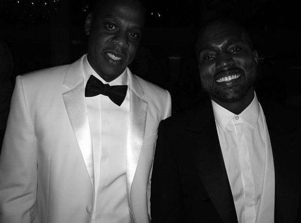 Jay Z Kanye West Instagram Met Gala 2014