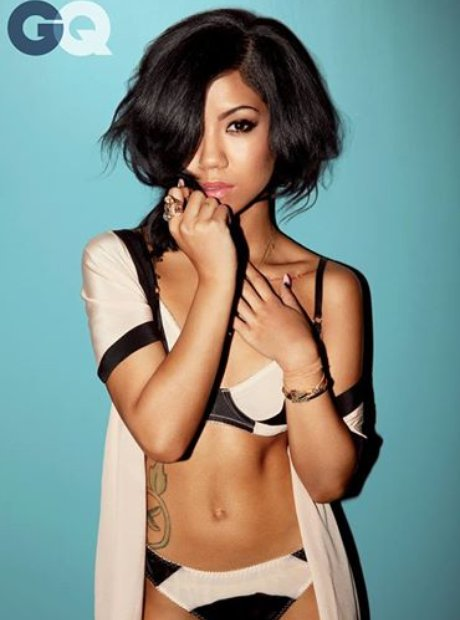 Jhene Aiko GQ Shoot