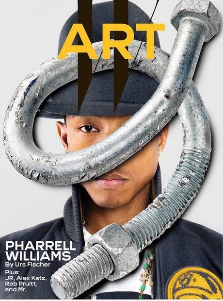 Pharrell Williams W Magazine Art Issue