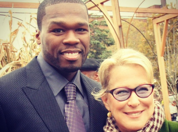 50 CENT Bette Midler