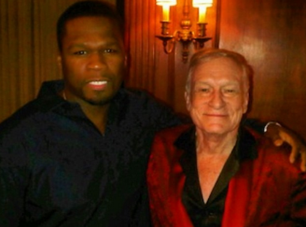 50 CENT Hugh Hefner