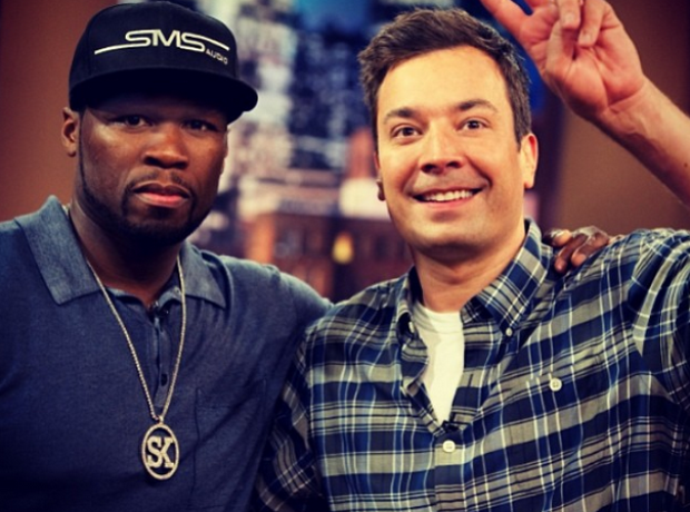 50 CENT Jimmy Fallon
