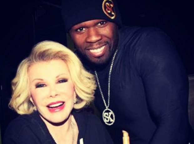 50 CENT Joan Rivers