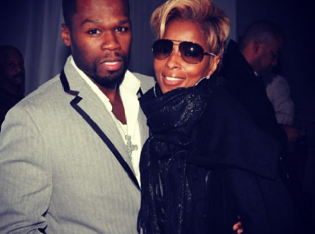 50 CENT Mary J Blige