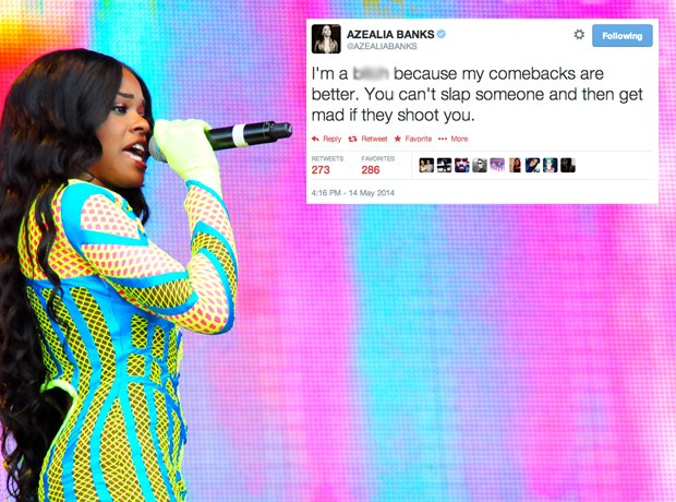 Azealia Banks Tweet
