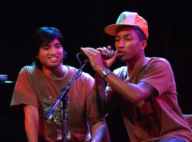 Pharrell Chad Hugo The Neptunes