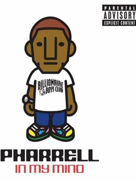 Pharrell In My Mind Album artwork