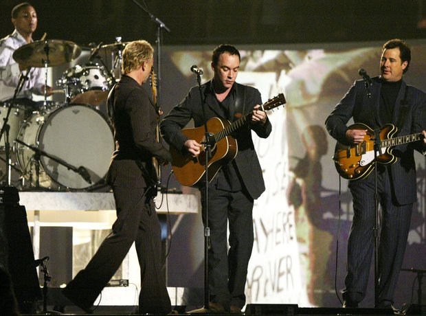 Pharrell Sting 2004 Grammy Awards