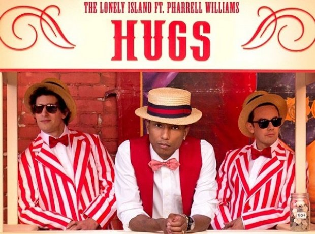Pharrell Williams Hugs artwork