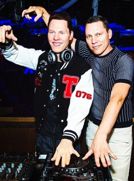 Tiesto with his waxwork