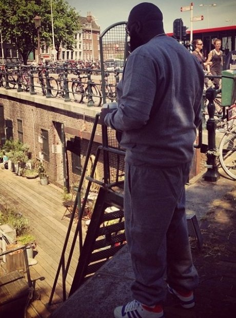 Rick Ross in Amsterdam