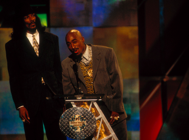 Snoop Dogg Tupac 1996 MTV Awards