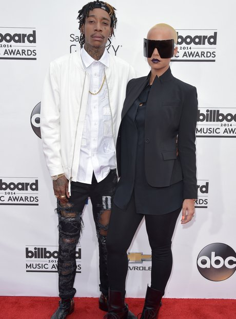 Wiz Khalifa and Amber Rose at the Billboard Music