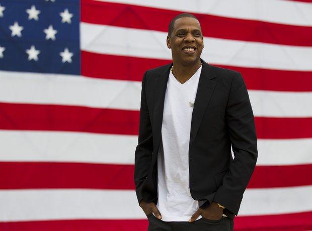 Jay Z American Flag