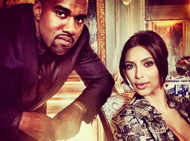 Kanye West and Kim Kardashian Married