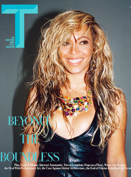 Beyonce T Magazine cover June 2014