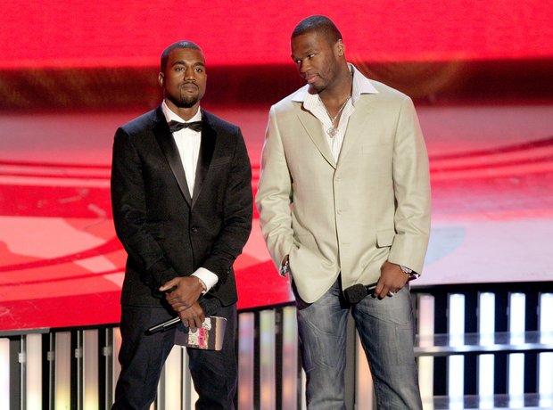 Kanye West 50 Cent