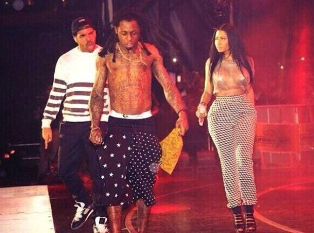 Nicki Minaj, Drake And Lil' Wayne At Summer Jam