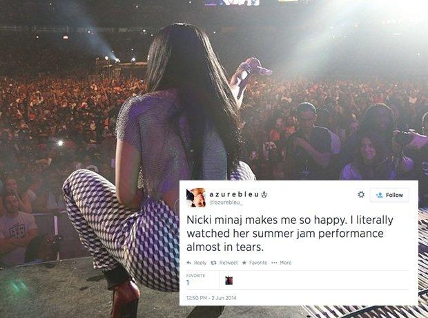 Nicki Minaj Fan Problems