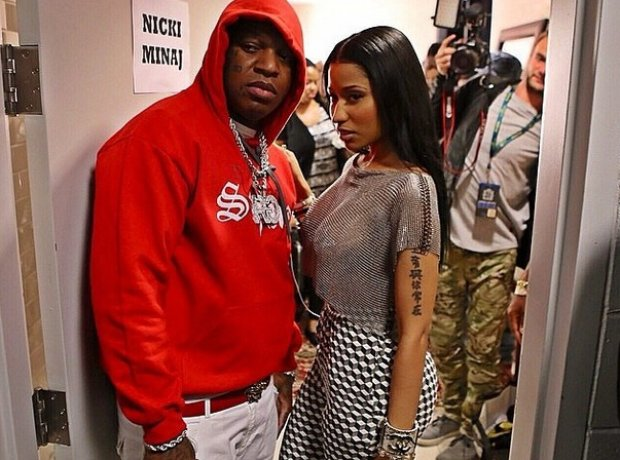Nicki Minaj with Birdman at Summerjam