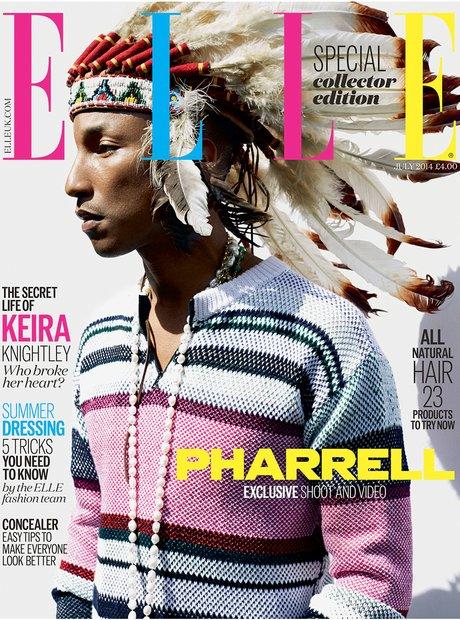 Pharrell Williams Ell Magazine Collector Edition