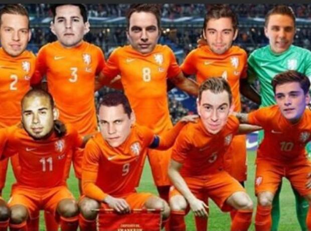 DJs world cup team