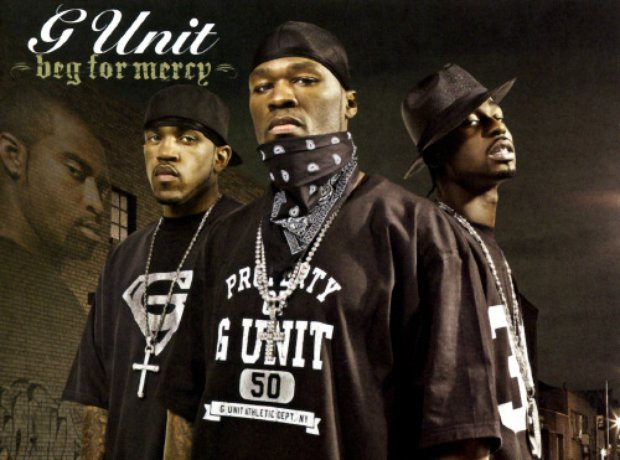 G-Unit Beg For Mercy artwork