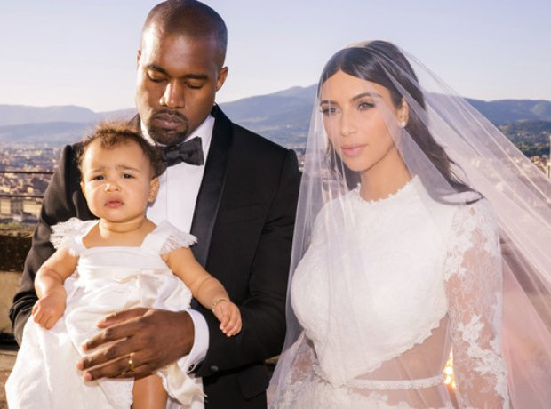 Kim Kardashian and Kanye West Wedding