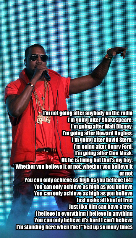 Kanye West Shakespeare Rant at Bonnaroo