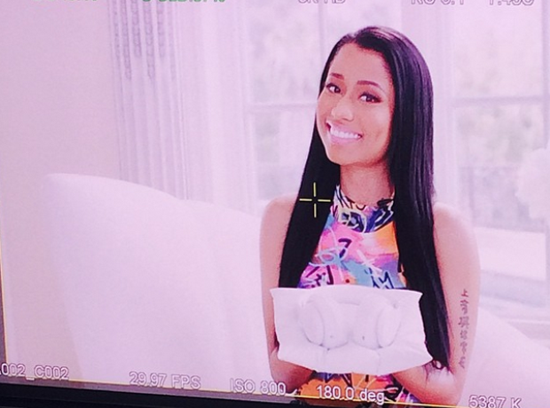 Nicki Minaj smiling Instagram