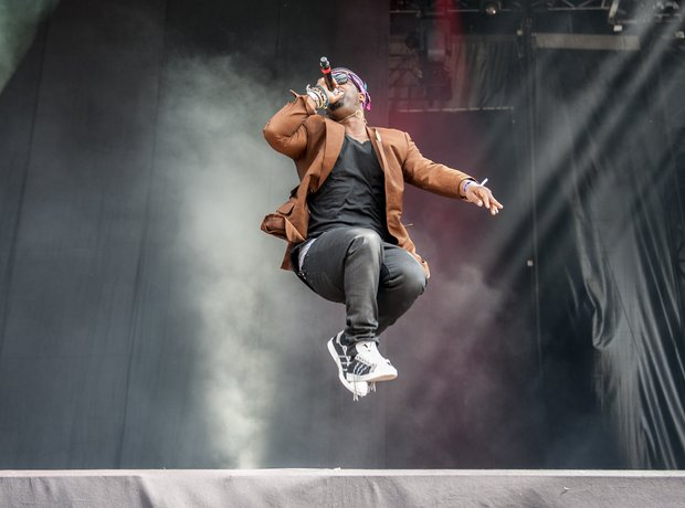 A$AP Ferg at Wireless Festival 2014 Birmingham