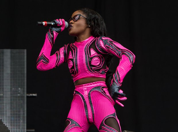 Azealia Banks at Wireless Festival 2014 Birmingham