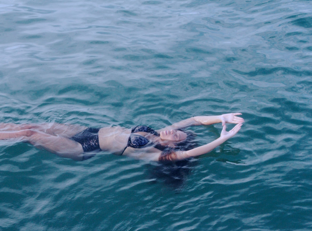 Beyonce in ocean
