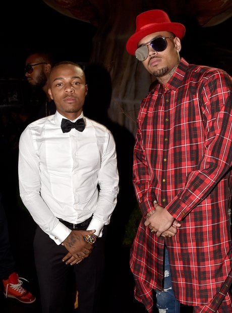 Bow Wow and Chris Brown at the BET Awards 2014